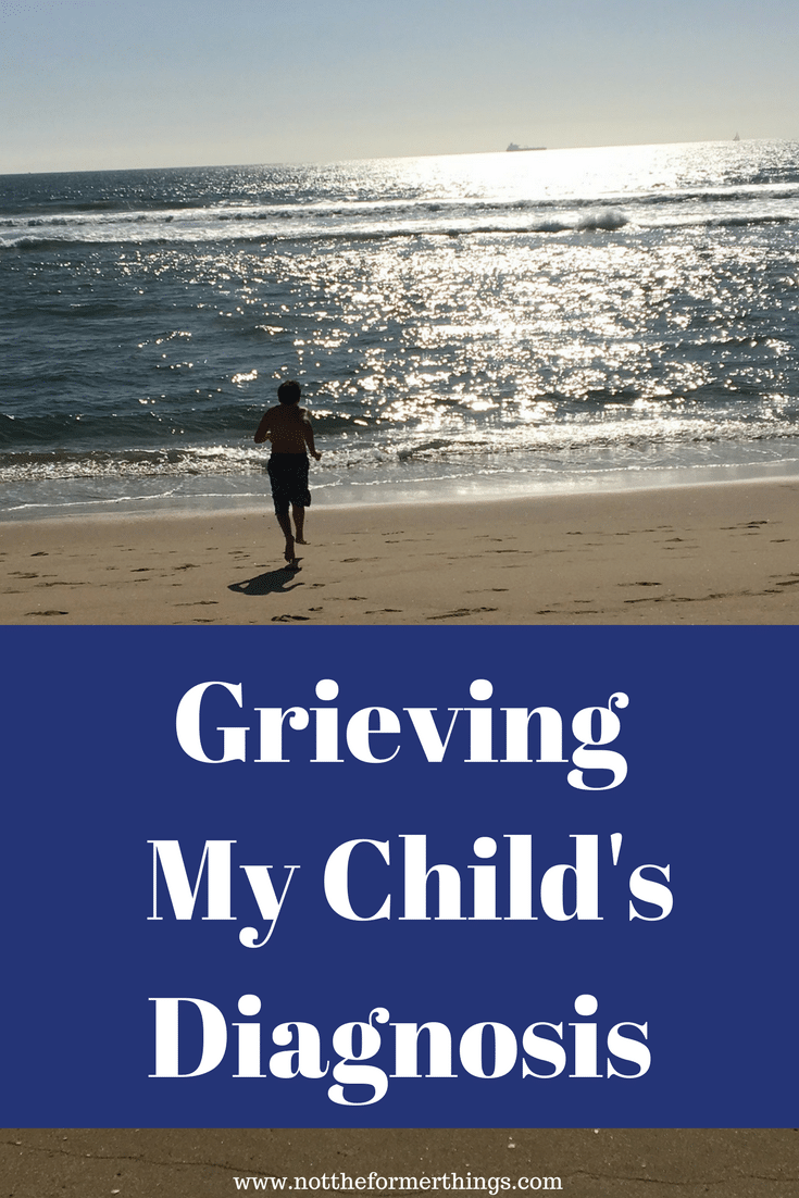 Grieving My Child's Diagnosis #autism #autismmom #grief #diagnosis