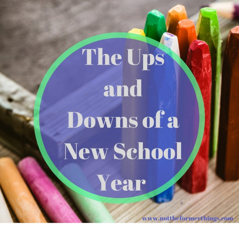 The Ups and Downs of a New School Year (1)
