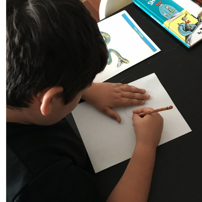 Art lessons for the anxious child