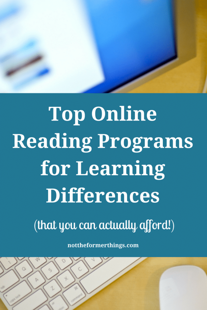 Top Online Reading Programs For Learning Differences (that you can ...