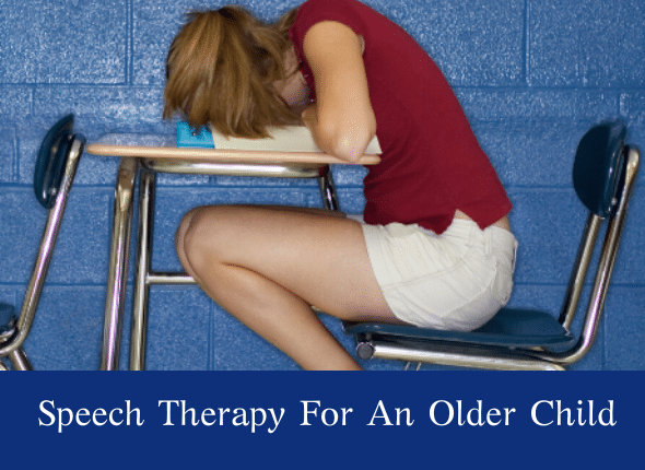 Speech Therapy For An Older Child