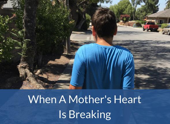 When A Mother's Heart Is Breaking