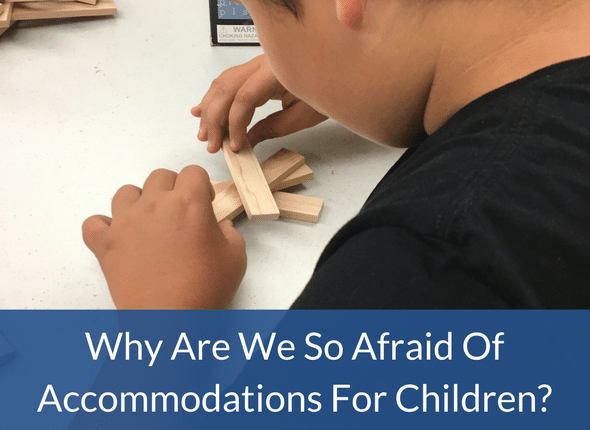 Why Are We So Afraid Of Accommodations For Children?