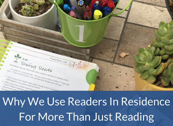 Why We Use Readers In Residence For More Than Just Reading