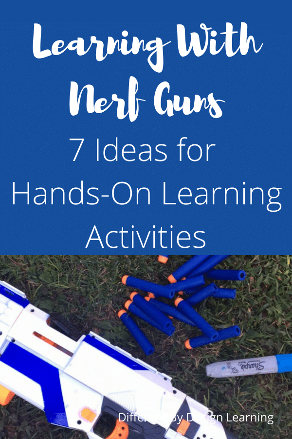 Learning with Nerf guns