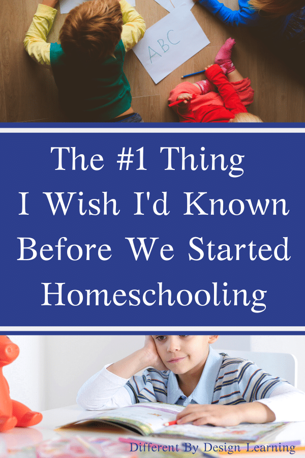 The #1 Thing I Wish I'd Known Before We Started Homeschooling