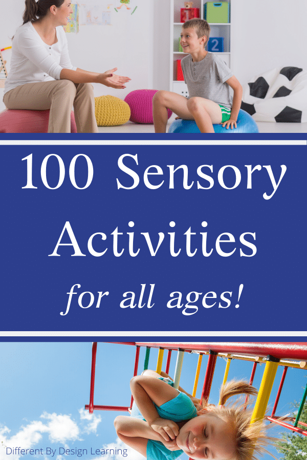 100 Sensory Activities For All Ages