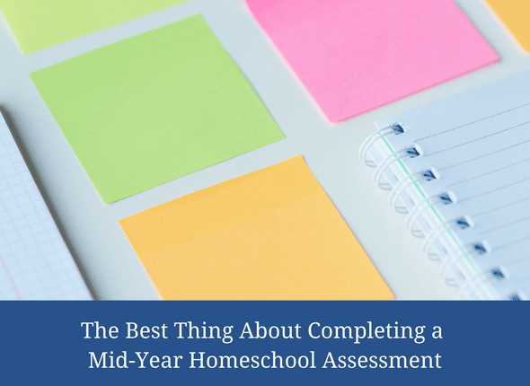 The Best Thing About Completing A Mid-Year Homeschool Assessment