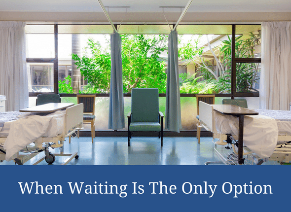 When Waiting Is The Only Option (special needs motherhood)