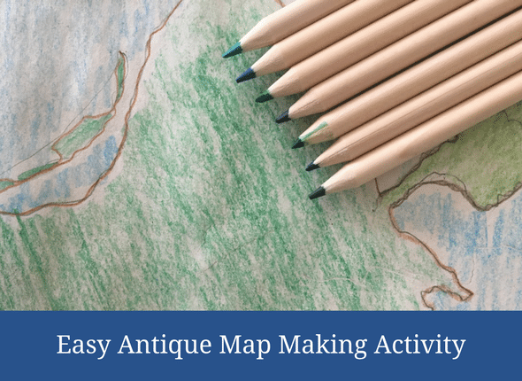 Easy Antique Map Making Activity