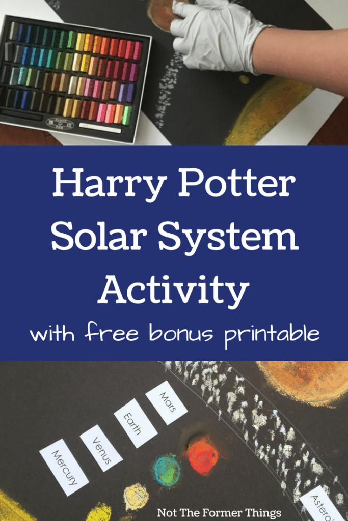 Harry Potter Solar System Activity #homeschool #homeschooling #kidsactivity