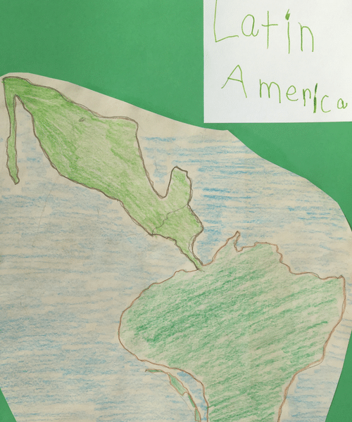 Easy Antique Map Making Activity #homeschool #handsonlearning