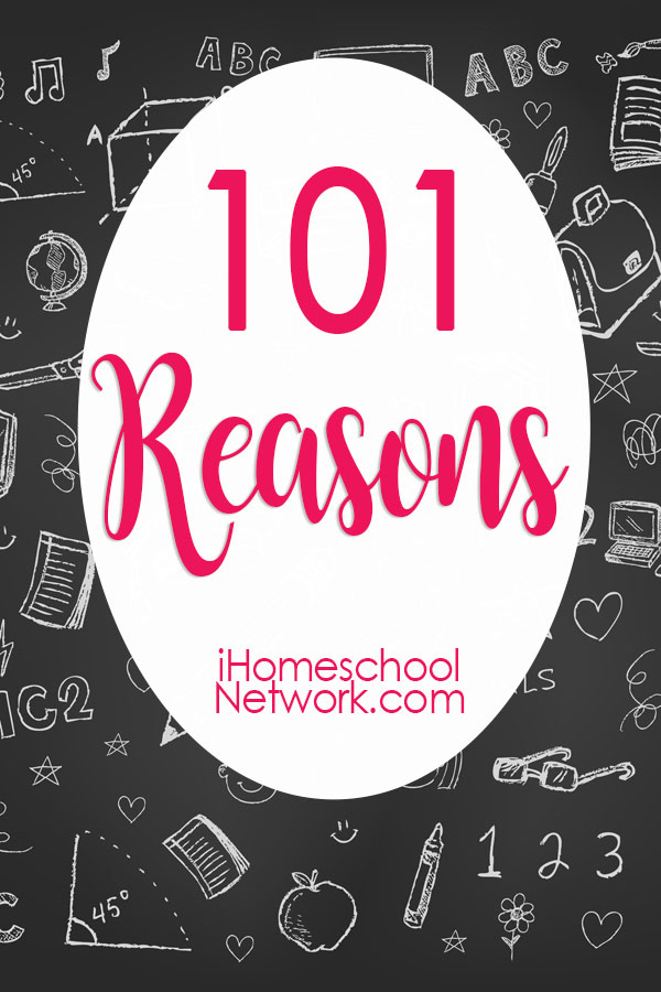 100 Good Reasons To Homeschool Your Child With Special Needs