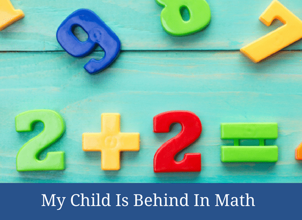 My Child Is Behind In Math