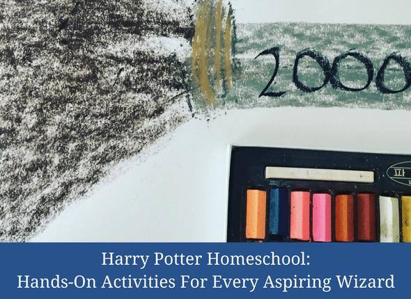 Harry Potter Homeschool:Hands-On Activities For Every Aspiring Wizard #handsonlearning #homeschool #harry potter #homeschoolmom