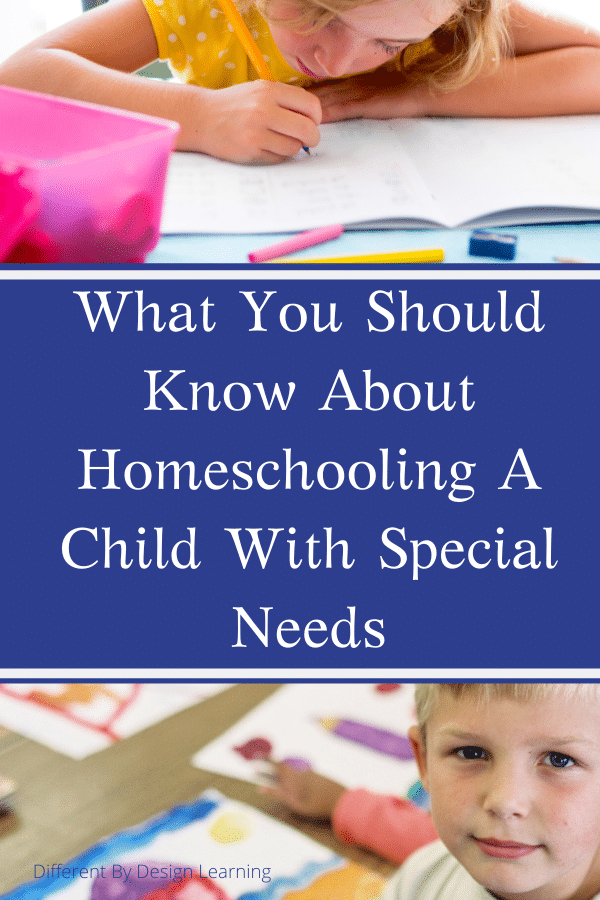 What You Should Know About Homeschooling A Child With Special Needs