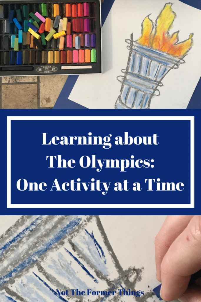 Learning About The Olympics: One Activity At A Time #handsonlearning #homeschool #homeschoolmom #homeschoolcurriculum #homeschoolhelp #kidsactivities