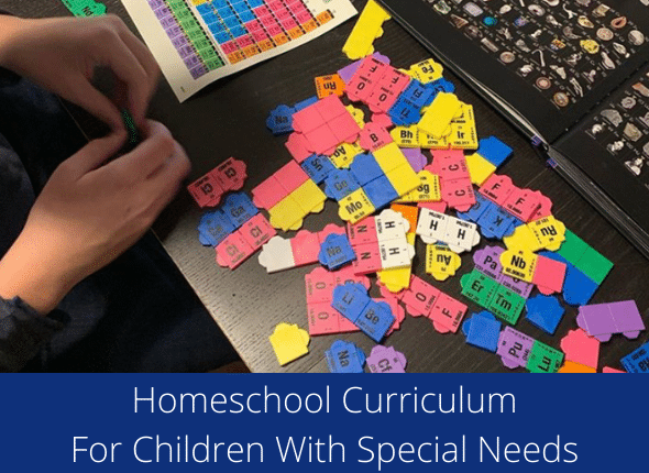 What About Homeschool Curriculum For Children With Special Needs?