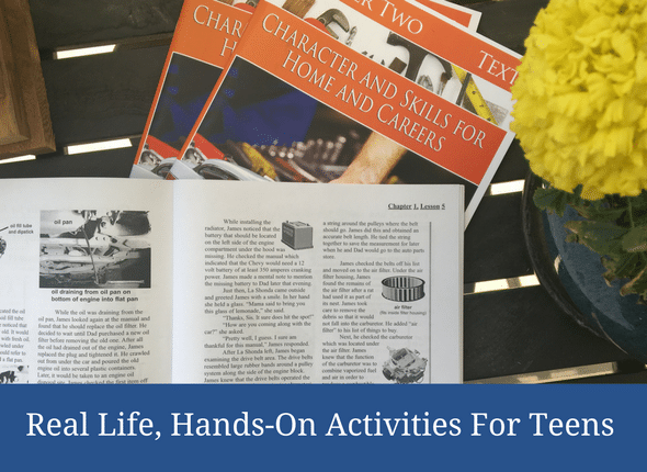 Real Life, Hands-On Activities For Teens