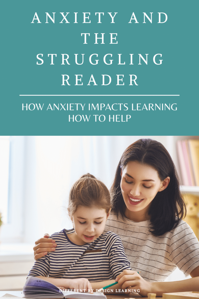 anxious struggling reader