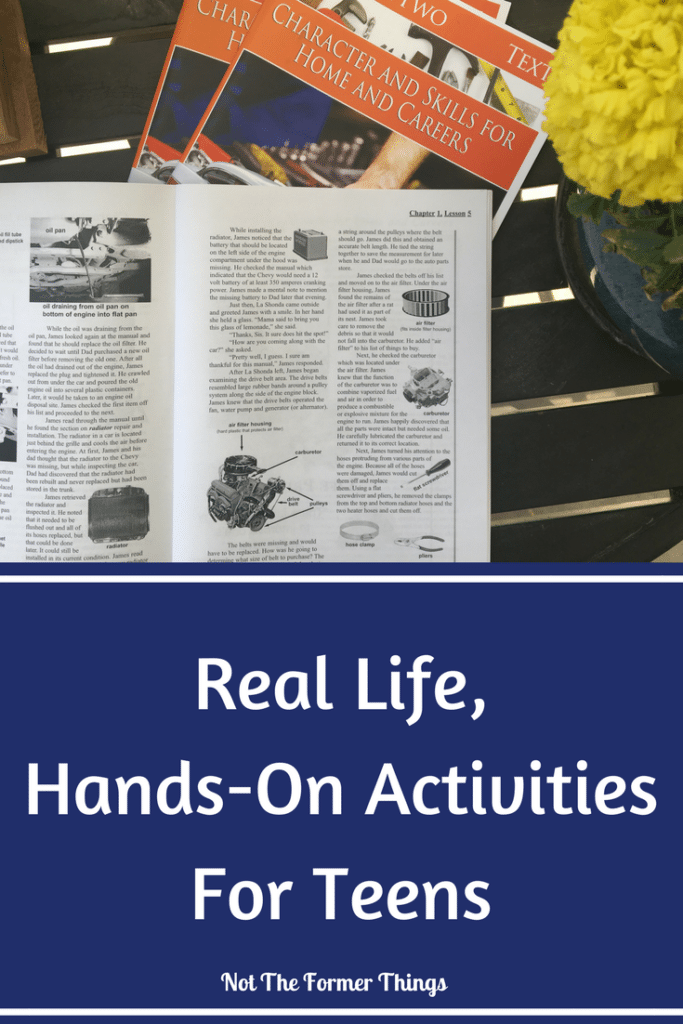 Real Life, Hands-On Activities For Teens #highschool #handson #lifeskills