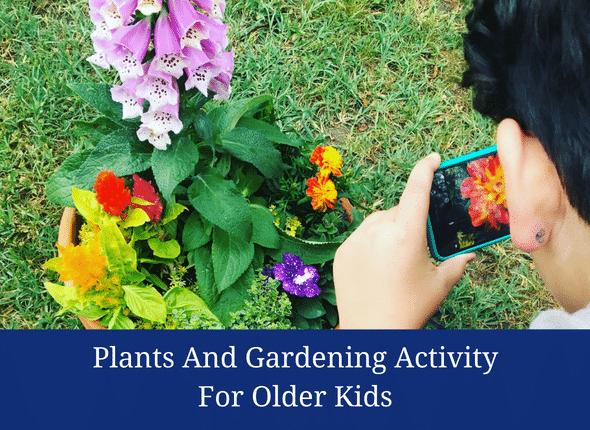 Plants And Gardening Activities For Older Kids