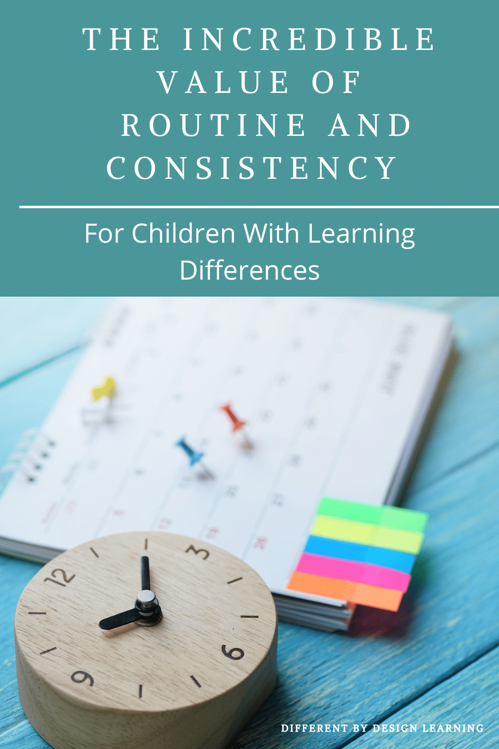 Routine And Consistency For Children With Learning Differences