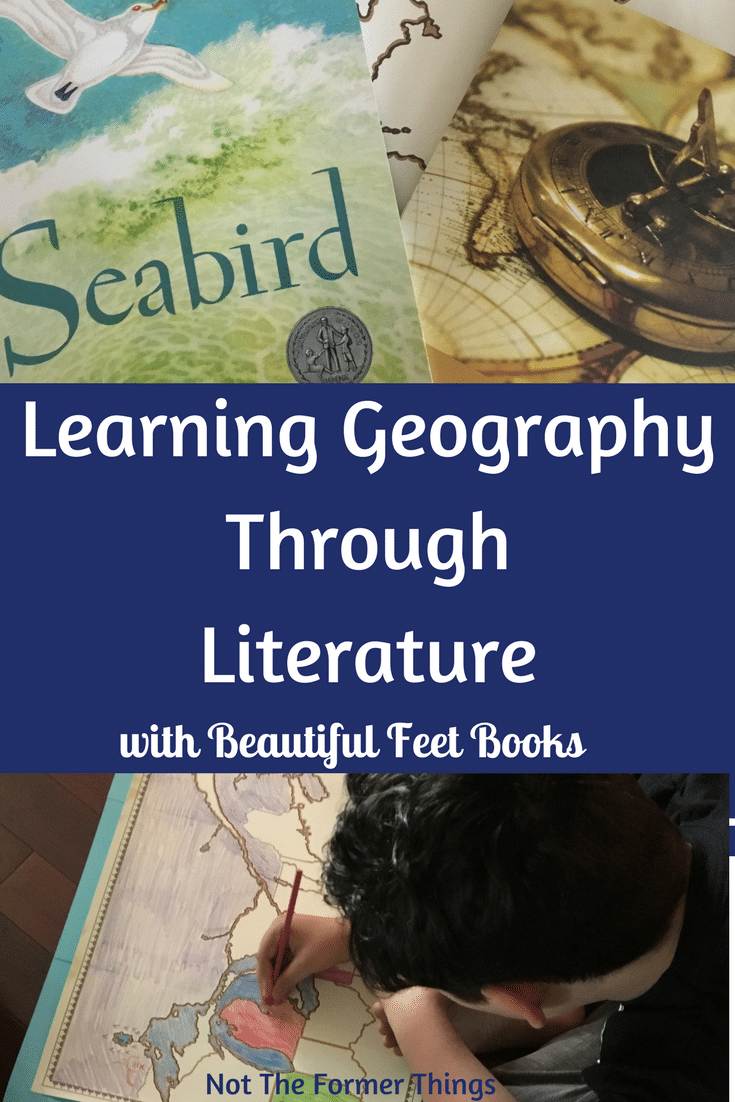 Learning Geography Through Literature with Beautiful Feet Books #beautifulfeet #geography