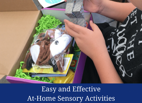 Easy And Effective At-Home Sensory Activities