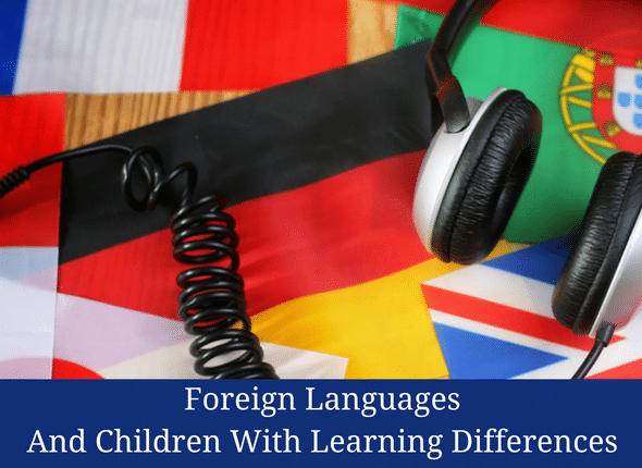 Foreign Languages And Children With Learning Differences