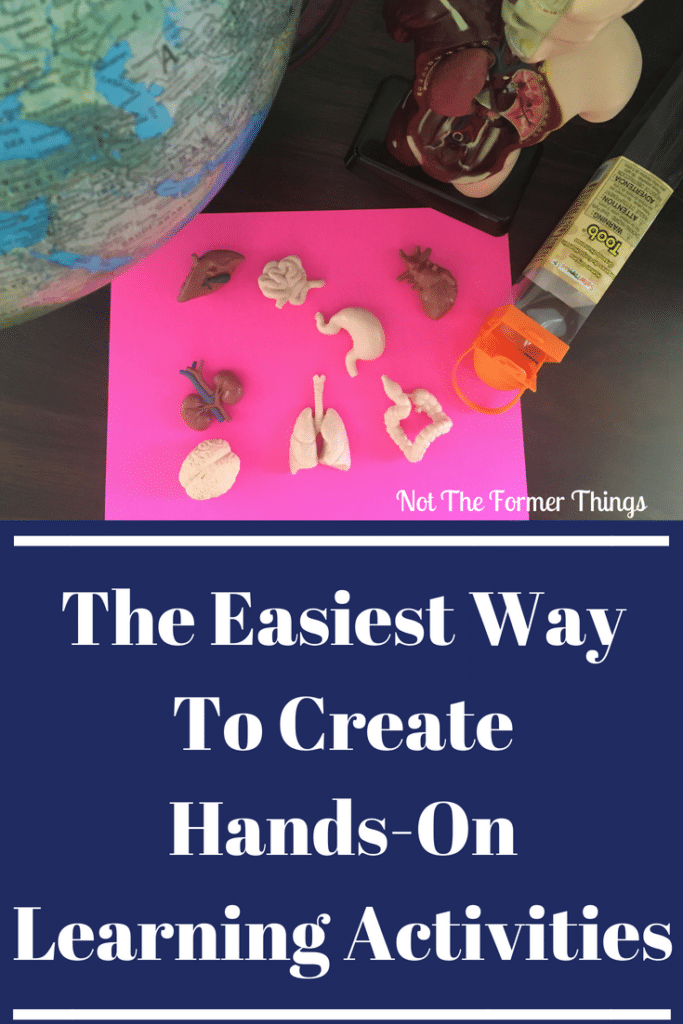 The Easiest Way To Create Hands-On Learning Activities - This activity was a perfect break from the usual and worth every single dollar Not The Former Things, Shawna Wingert