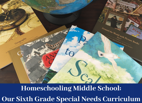 Homeschooling Middle School: Our sixth grade special needs curriculum Homeschooling Middle School: