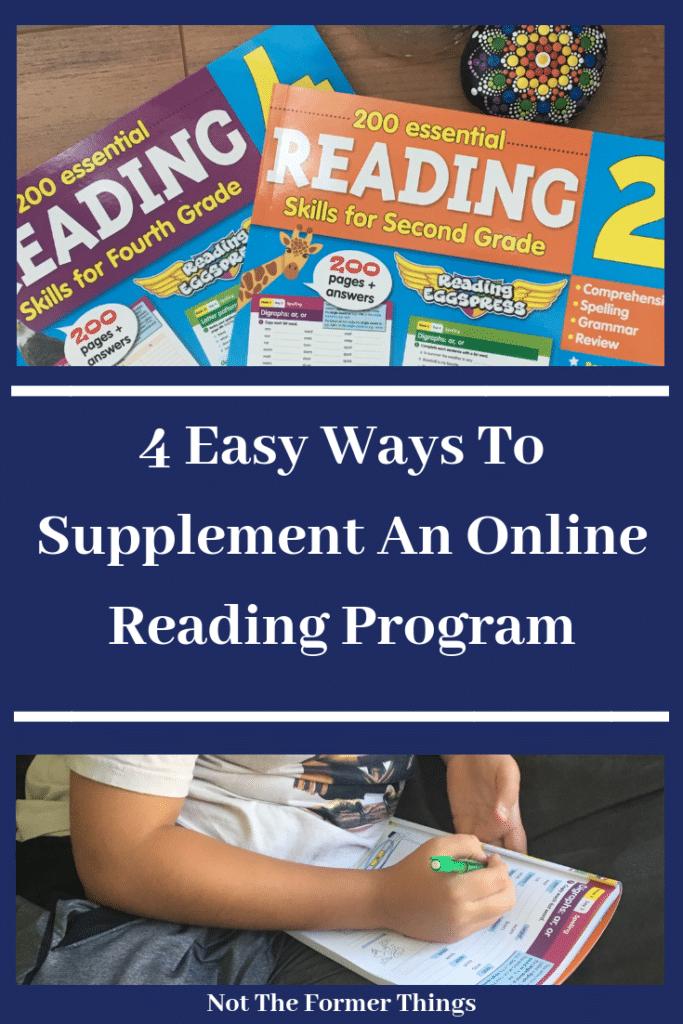 4 Ways To Supplement An Online Reading Program