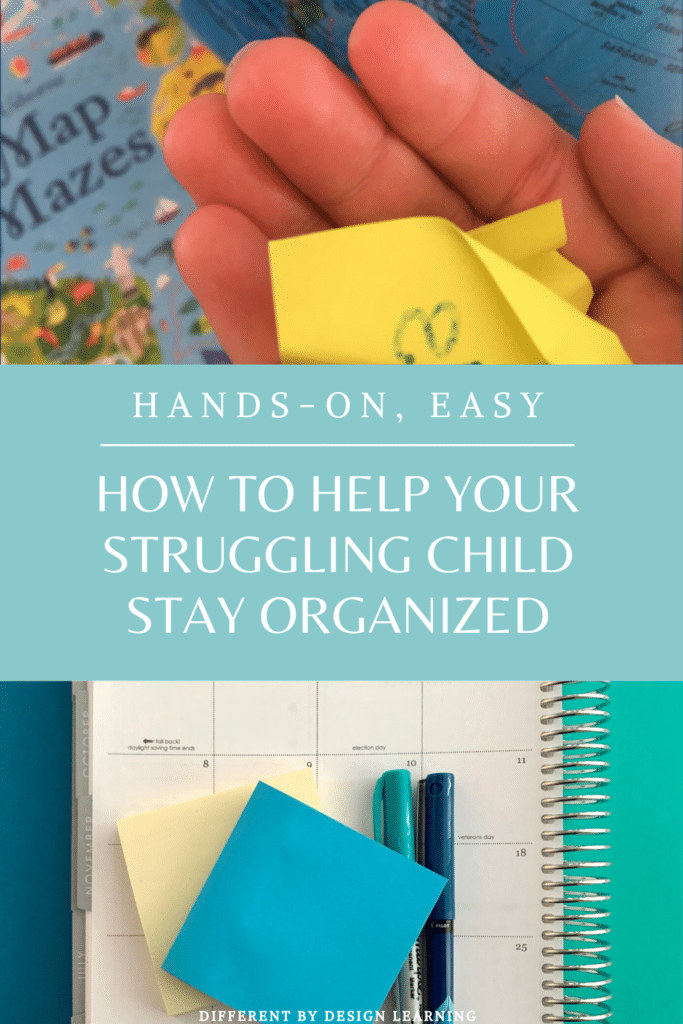 How To Help Your Struggling Child Stay Organized