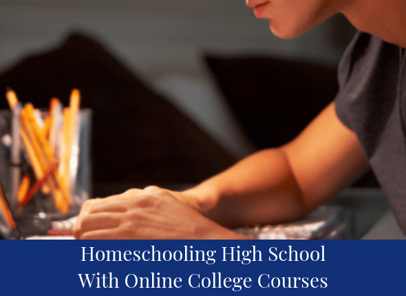 Homeschooling High School With Online College Courses