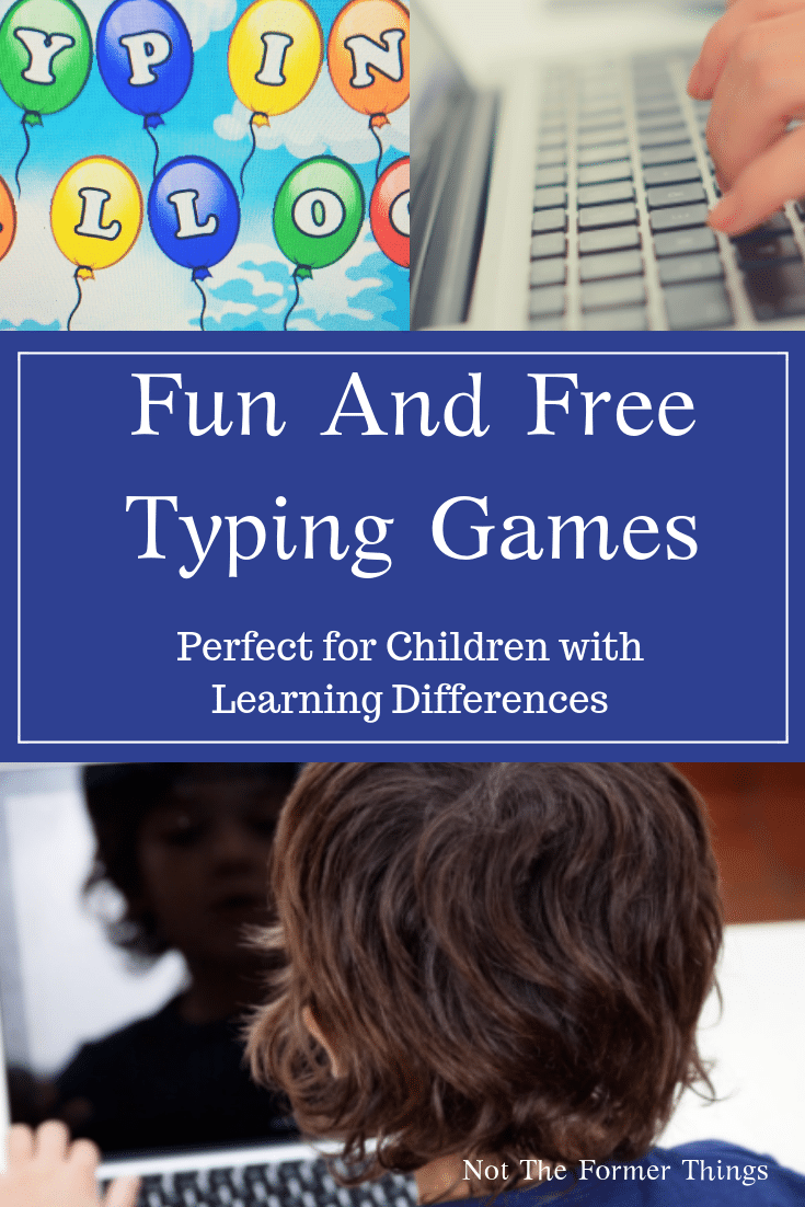 Fun And Free Typing Games: Perfect For Children With Learning Differences