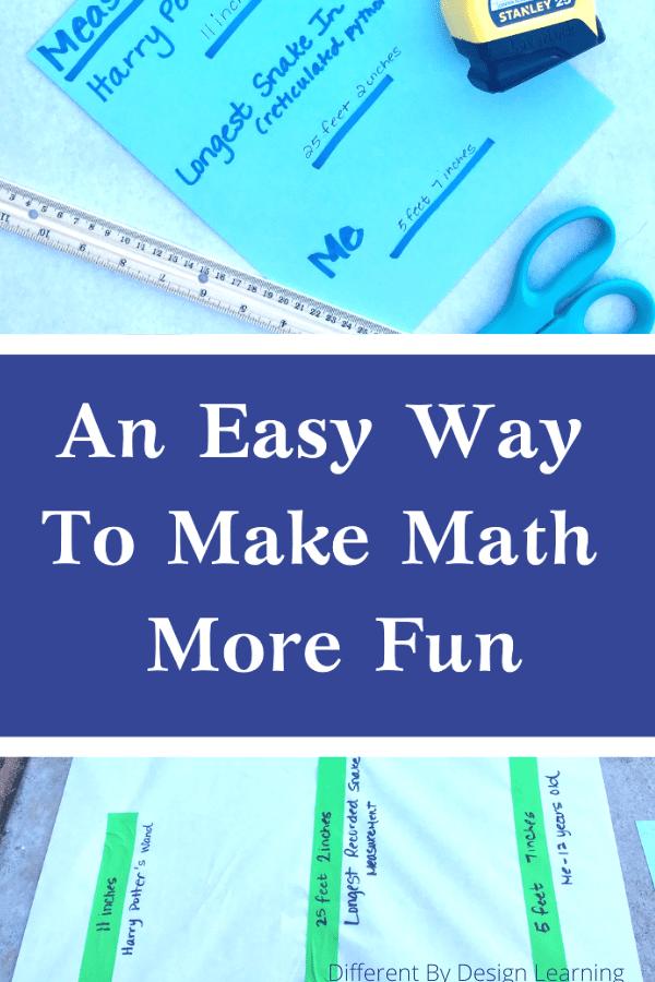 an easy way to make math more fun