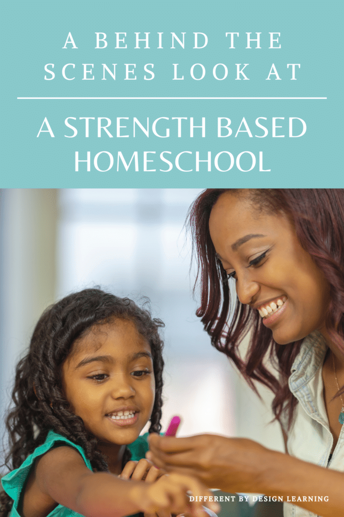 Strength based homeschool