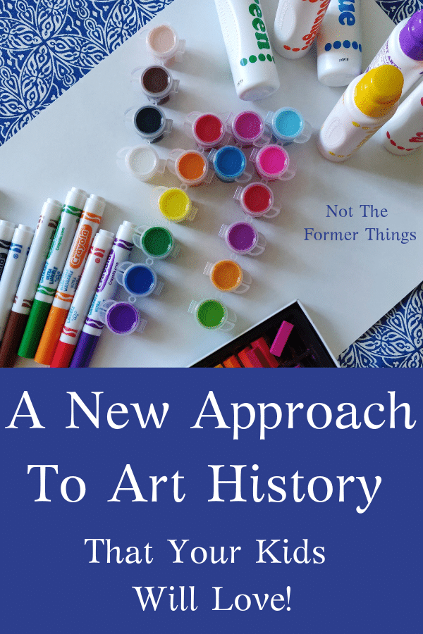 A New Approach To Art History That Your Kids Will Love - Art History Kids is an excellent resource. Interest-led and tons of fun.