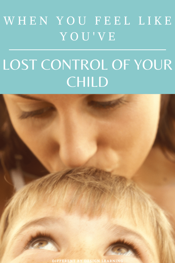 lost control of child