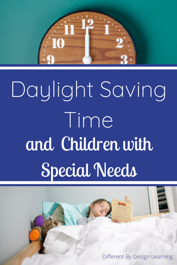 daylight saving time and children with special needs