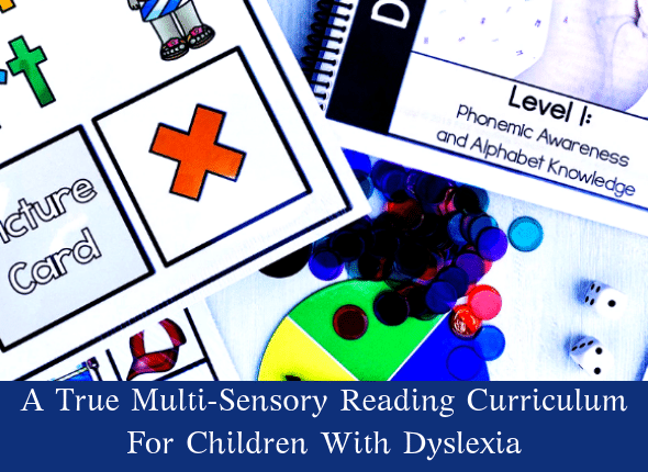 A True Multi-Sensory Reading Curriculum For Children With Dyslexia