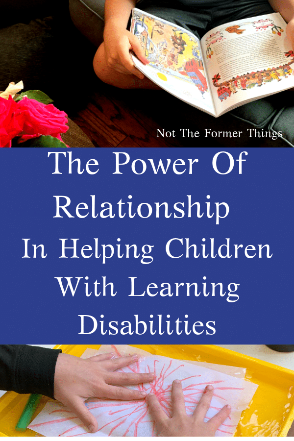 relationship and children with learning diabilities