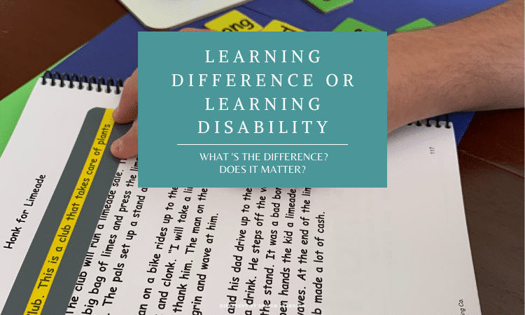 What Is The Difference Between Learning Disabilities and Learning Differences?
