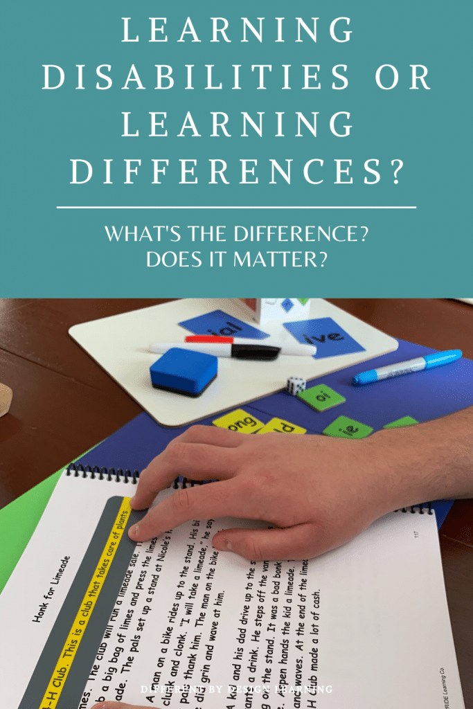 learning differences and learning disabilities