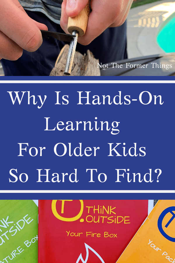 Why Is Hands-On Learning For Older Kids So Hard To Find?