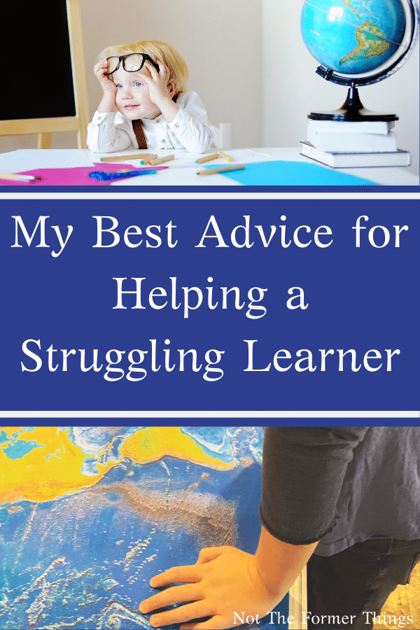 My Best Advice For Helping A Struggling Learner