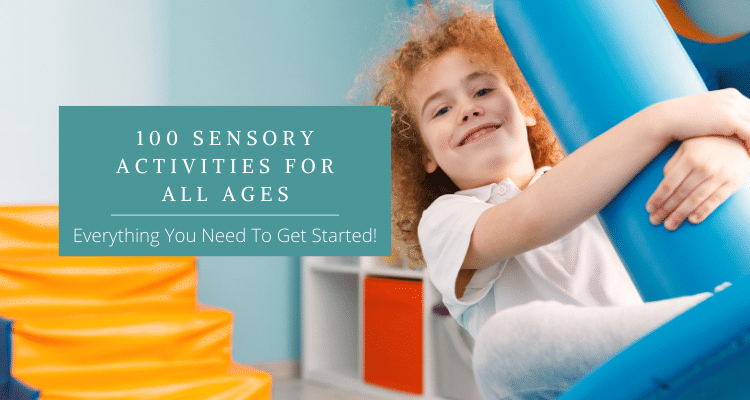 Sensory activities for all ages