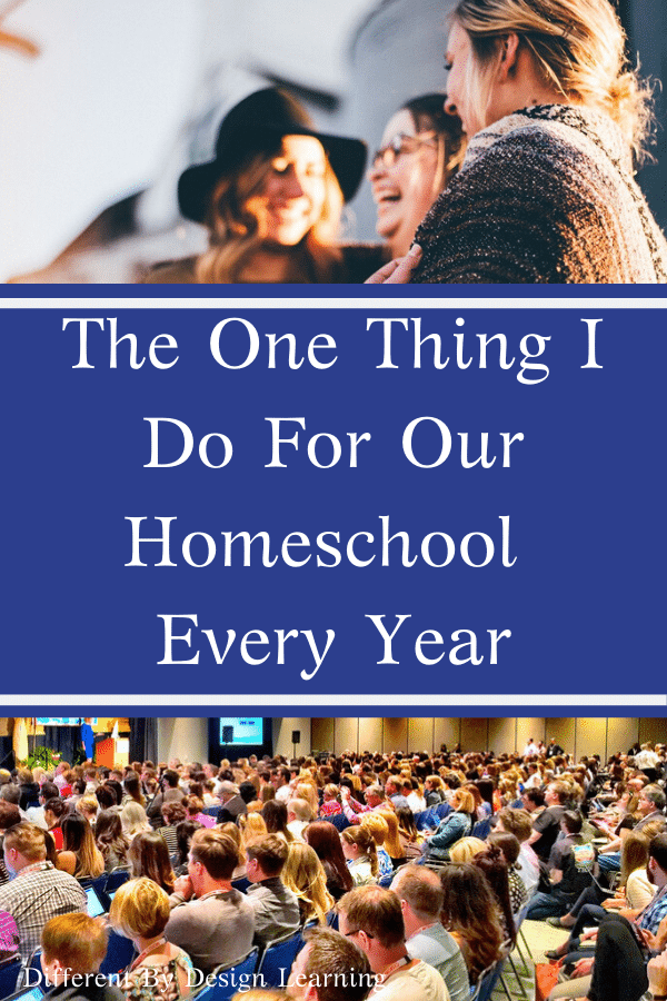 The One Thing I Do For Our Homeschool Every Year