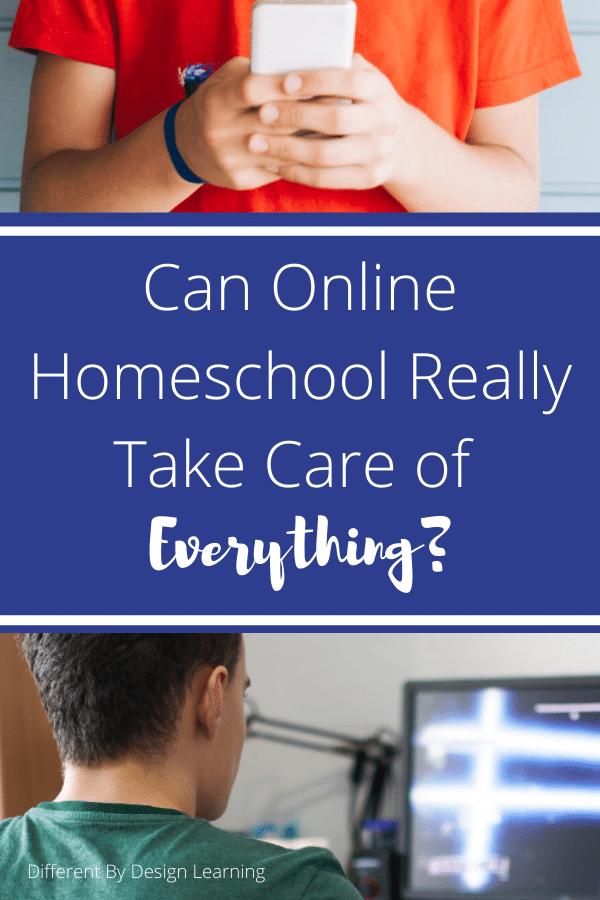 online homeschool options